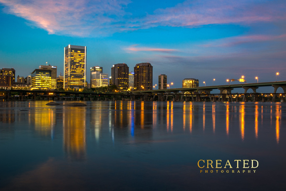 RVA Night Skyline